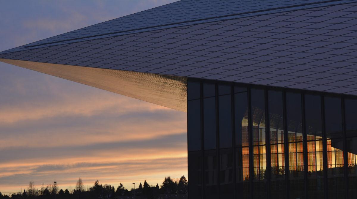 STCC outside dusk